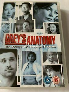 Grey's Anatomy: Complete Second Season DVD (2007) Ellen Pompeo, Patrick Dempsey