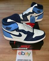 New Nike Air Jordan 1 Retro High UNC Mens Size 8.5-14 Basketball Shoe 555088-140