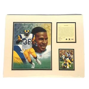 Jerome Bettis 1995 Alan Studt Picture Limited Edition KRSI #0721
