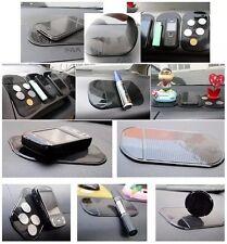 Negro Coche Antideslizante Soporte de panel de control Pad Pegajoso Mat no teléfono MP3 Para Ford Opel