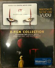 BRAND NEW It 2-Movie Collection Blu-ray, Digital Only Digital Copy of Chapter 2