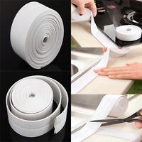 Kitchen Bath Wall Sealing Strip Self-Adhesive Moldproof Caulk Repair Tape 3.2M