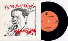 "Rude Awakening - Teenage Suicide 7"" Lost Generation Seizure Connecticut Punk KBD"