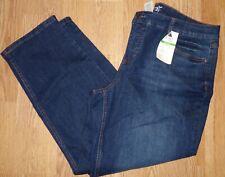 Nuovo con etichette terra e cielo da donna Taglia 18WP Petite Medio Lavare Jeans Dritti controllo della pancia