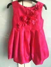 STUNNING RASBERRY PINK TED BAKER PARTY DRESS 2-3 YEARS