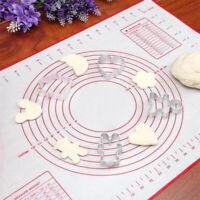Bakeware Sheet Cake Kneading Dough Non Stick Baking Mat Rolling Pad Silicone