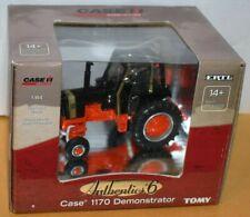 Ertl #14897 Case IH Authentics #6 Case 1170 Demonstrator Tractor Black Knight