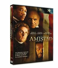 DVD *** AMISTAD *** Morgan Freeman, Anthony Hopkins