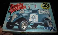 MPC WILLYS VAN PADDY WAGON VINTAGE 1/25 Model Car Mountain KIT OPEN