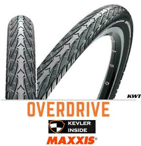 2 X Maxxis Overdrive 700X38C Bicycle Bike Tyes Hybrid Bike Tyre