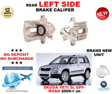 FOR SKODA YETI 5L OFF ROAD 2009->ON REAR AXLE LEFT BRAKE CALIPER OE QUALITY