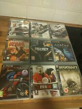 9 Game PS3 Collection - Gran Turismo, Fifa, Call Of Duty, Rainbow Six & More