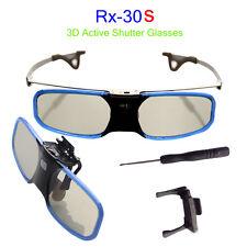 144Hz 3D DLP-Link Obturador Activo Recargable Gafas para BenQ Optoma Acer A2