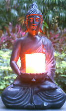 "17"" tall Buddha Statue Buddha Zen Votive Candle Holders for Home or Garden"