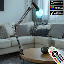 LED Klemm Lampe verstellbar RGB Farbwechsel Vintage Tisch Leuchte FERNBEDIENUNG