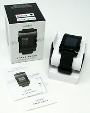 New NIB Pebble Smart Watch for iPhone or Android Black Model 301BL in box