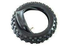 HMParts Dirt Pit Bike Mini Cross Reifen 80/100-10 Cross mit Schlauch 3.00-10