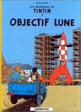 Casterman Herge Les Avntures De Tintin Objectif Lune French Cartoon Hardcover