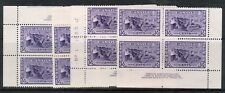 Canada #261 Very Fine Never Hinged Plate #1 Match Set Of Blocks