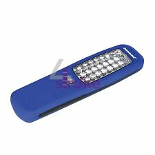 LED Linterna Antorcha mecánico Magnético - 24 LED 120 Lumen de salida 210 X 60mm