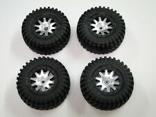 NEW HPI BLITZ Wheels MK.10 & MAXXIS TREPADOR D Tires Set of 4 HZ19E