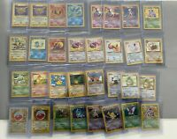 ORIGINAL Pokemon 10 Card Lot - Vintage WOTC Sets: 1st Edition, Rare, Holo Rare