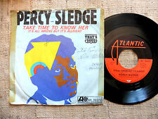 Percy Sledge – Take Time To Know Her / It's All Wrong But It's Alrigh 45 giri