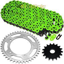 Green O-Ring Drive Chain & Sprockets Kit Fits SUZUKI GSX-R750 GSXR750 2000-2005