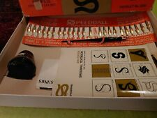 Speedball Advanced Calligraphy Set No.1 #3061 with 25 Tips 24 unused W/ ink book