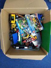 Large 6 KG Bundle Of Lego With Manuals Mixed Blocks Vehicles Minecraft #141