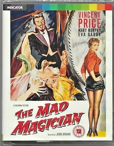 The Mad Magician Limited Edition Blu Ray 3D/2D  All Regions Free Post