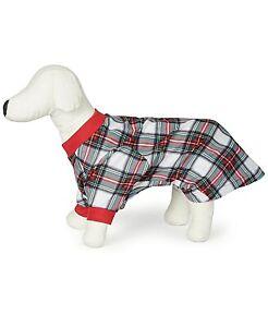 Family Pajama's Matching Pet Pajama Stewart Plaid Size L Small Dog Free ship NWT