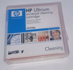 HP Invent Ultrium Universal Cleaning Cartridge  C7978A. NEW SEALED