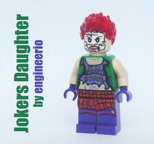 LEGO Custom DC Jokers Daughter super heroes minifigures