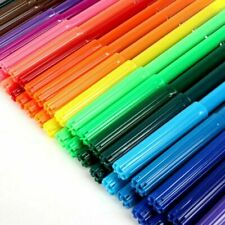 Artbox 50 Pack Colouring Pens - Fibre Felt Tips Kids Children Crafts Drawing Fun