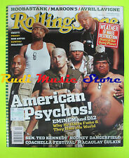 ROLLING STONE USA MAGAZINE 950/2004 Eminem D12 Maroon 5 Macaulay Culkin No cd