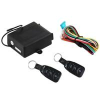 Universal Car Keyless Entry System Kit Remote Control Central Door Lock Locking