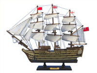 """HMS Victory 14""""  - Wooden Tall Ship - Nautical Decoration - Model Tall Ship"""