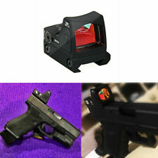 Mini RMR Red Dot Sight Collimator Sight Scope fit 20mm Weaver/Hunting Rifle
