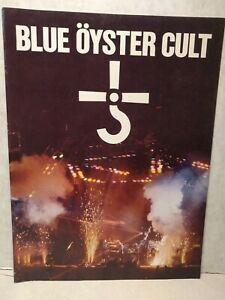 BLUE OYSTER CULT 1980  TOUR BOOK  Excellent unused!