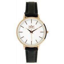 Weiße Armbanduhren aus Kunstleder