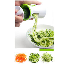 Zoodle Vegetable Spiral Slicer & Pasta Maker Japanese Stainless Steel Blades New