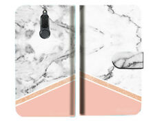 Marble Shape Stone Wallet Phone Case Cover For Telstra Nokia 2.1 - A028