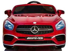 MERCEDES AMG SL65 RIDE ON CAR KIDS MP4 TOUCH SCREEN REMOTE CONTROL ELECTRIC RED