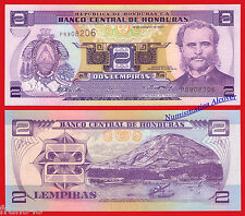 HONDURAS 2 lempiras 2004 Pick 80Ae  SC / UNC