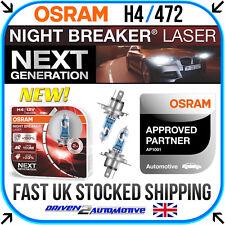 2x H4 OSRAM NIGHT BREAKER LASER BULBS FOR FORD FIESTA V JH_, JD_ ST150 03.05-