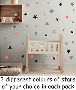 Vinyl Wall Art Stickers Bedroom Star Home Décor DIY Baby Kids Boy Girls Children