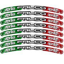 Aprilia FALCO drapeau italien personnalisé JANTE graphique