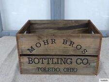 Nr.C2 Vintage Box ~ Negro Bros Bottling Co.Toledo Ohio ~ Wooden Box