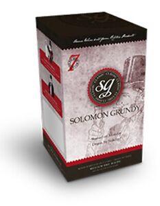 SOLOMON GRUNDY CLASSIC 6 BOTTLE WINE KIT -  MEDIUM SWEET WHITE - 7 DAYS TO MAKE
